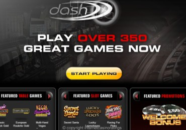 Dash Casino - Website