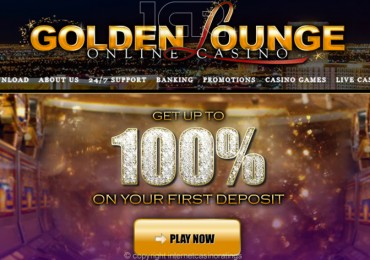 Golden Lounge Online Casino - Website